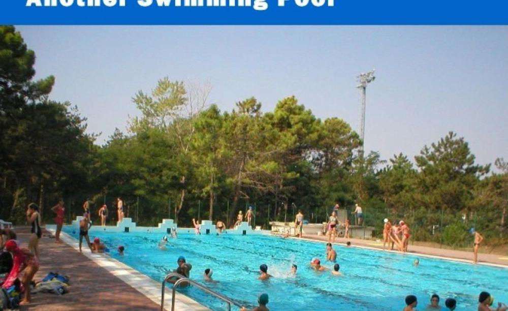 """бассейн в лагере MB International Summer Camp Lignano - компания """"Аспект"""""""