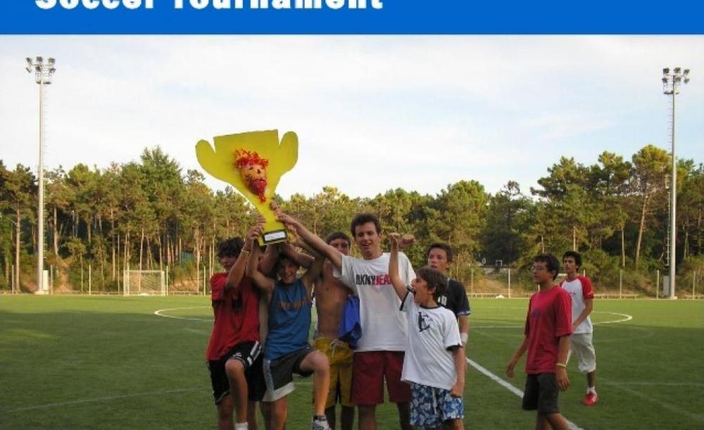 """дети на соревнованиях в лагере MB International Summer Camp Lignano - компания """"Аспект"""""""