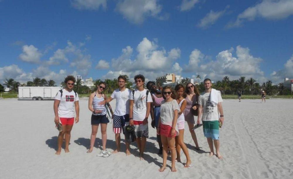 участники лагеря Rennert Miami