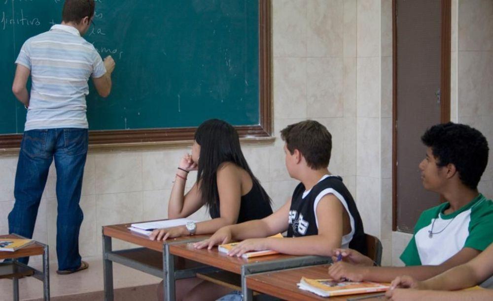 дети на занятиях в лагере Salamanca, Enfocamp