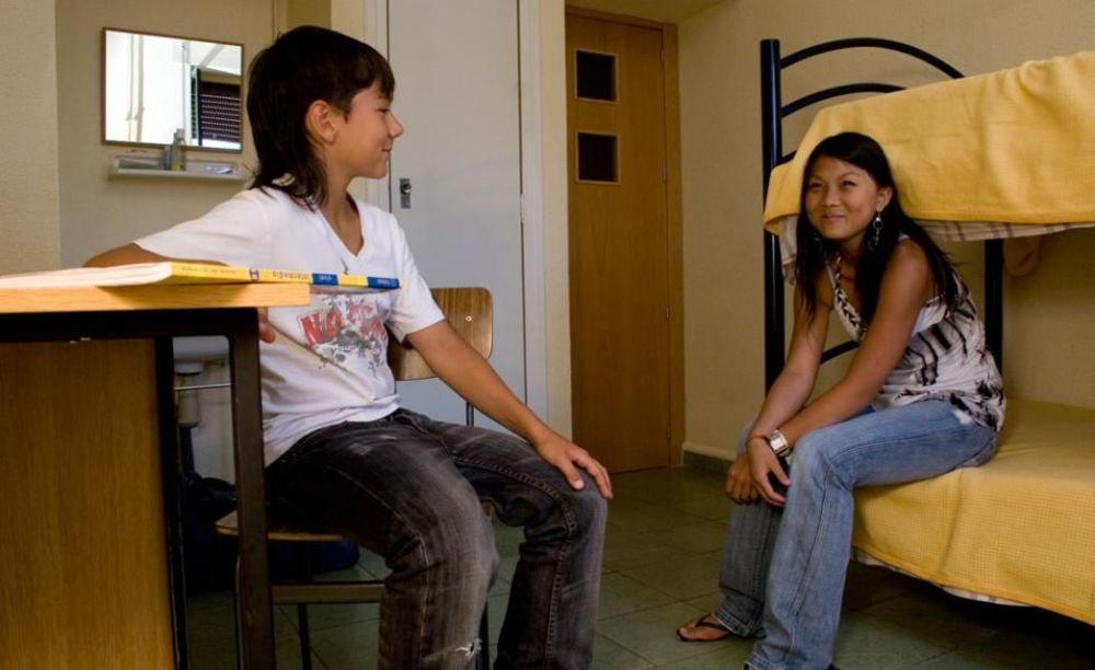 дети в лагере Salamanca, Enfocamp
