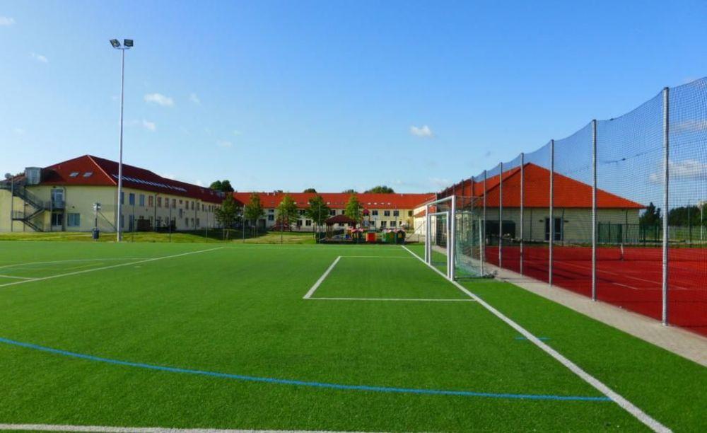 спортивные площадки в школе St. George's School Cologne
