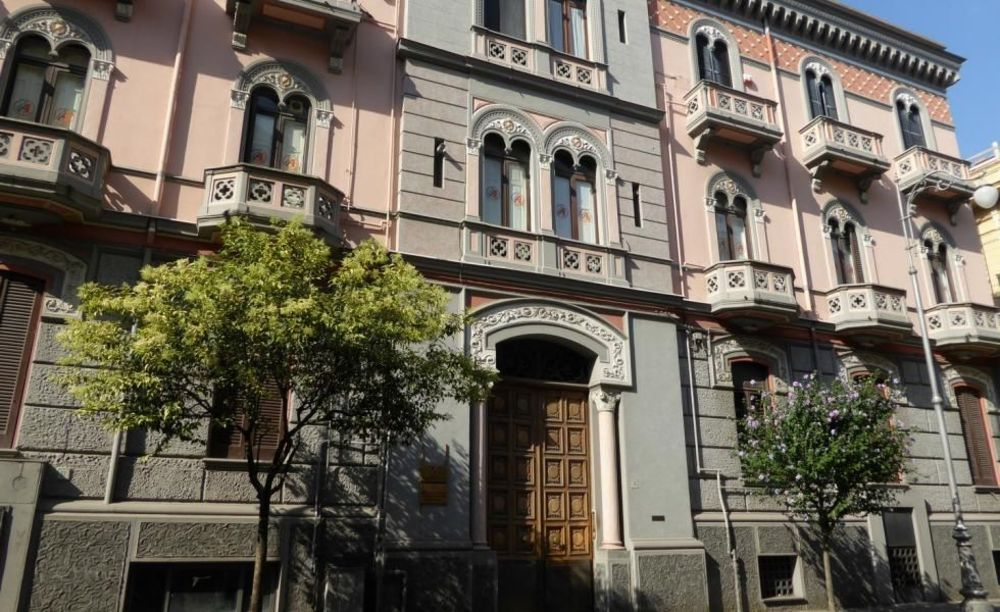 здание школы Accademia Italiana Salerno