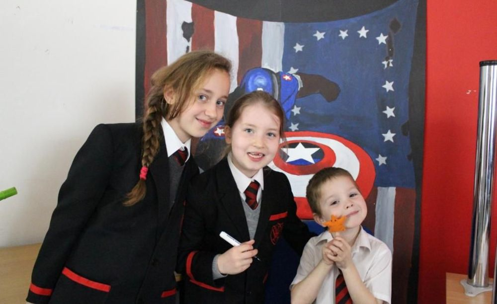 школьники Westbourne School