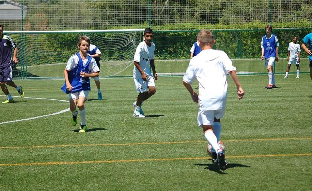 футбольный турнир в лагере King's College, The British School of Madrid