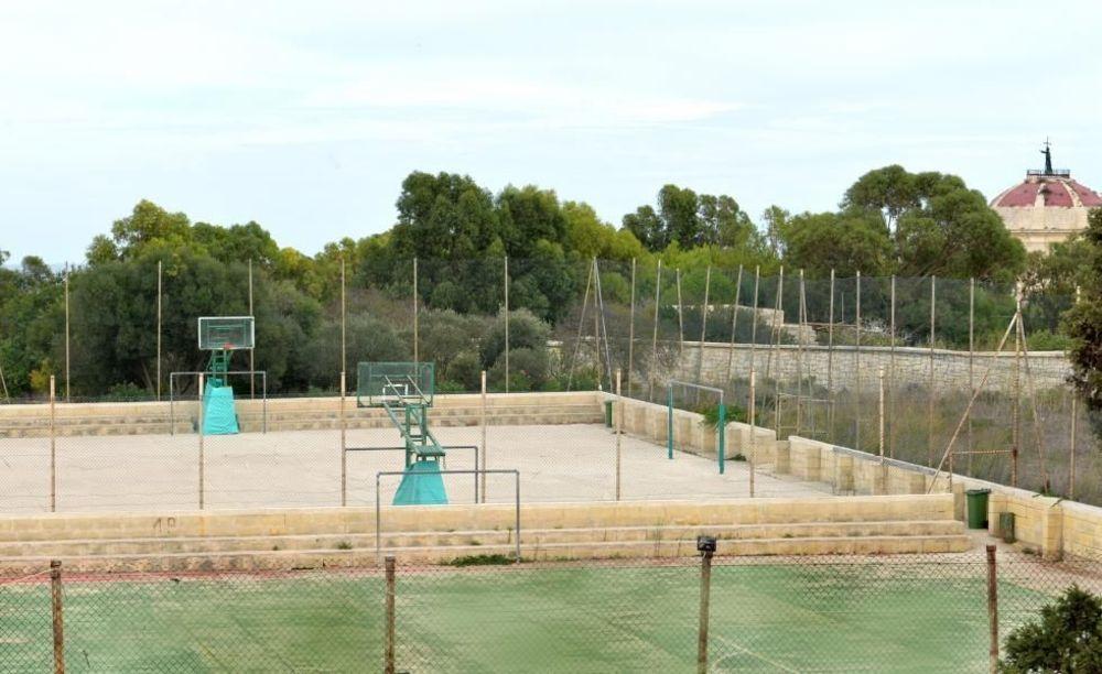 спортивные площадки в школе GV Malta Summer Camp