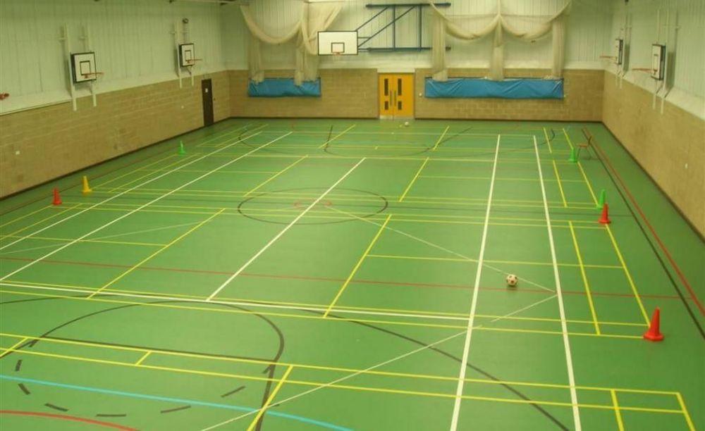 Спортивный зал King's Hall School. Аспект - Образование за рубежом