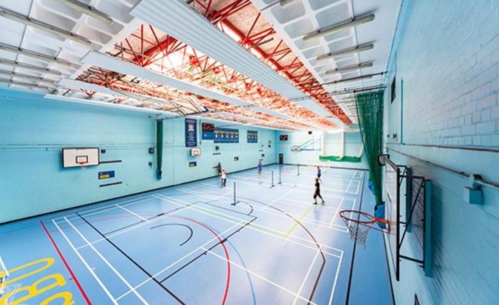 Спортивный зал South Bank University. Аспект - Обучение за рубежом