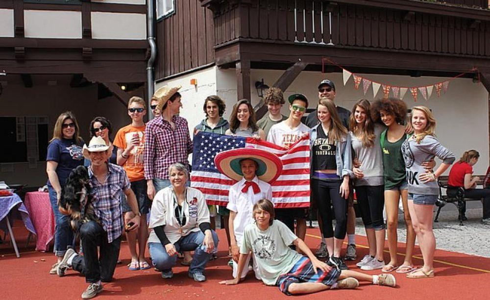 развлекательные мероприятия в летнем лагере St. Gilgen International