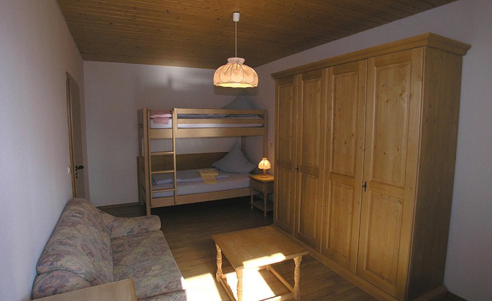 комната студентов в лагере Lindenberg, Humboldt – Institut