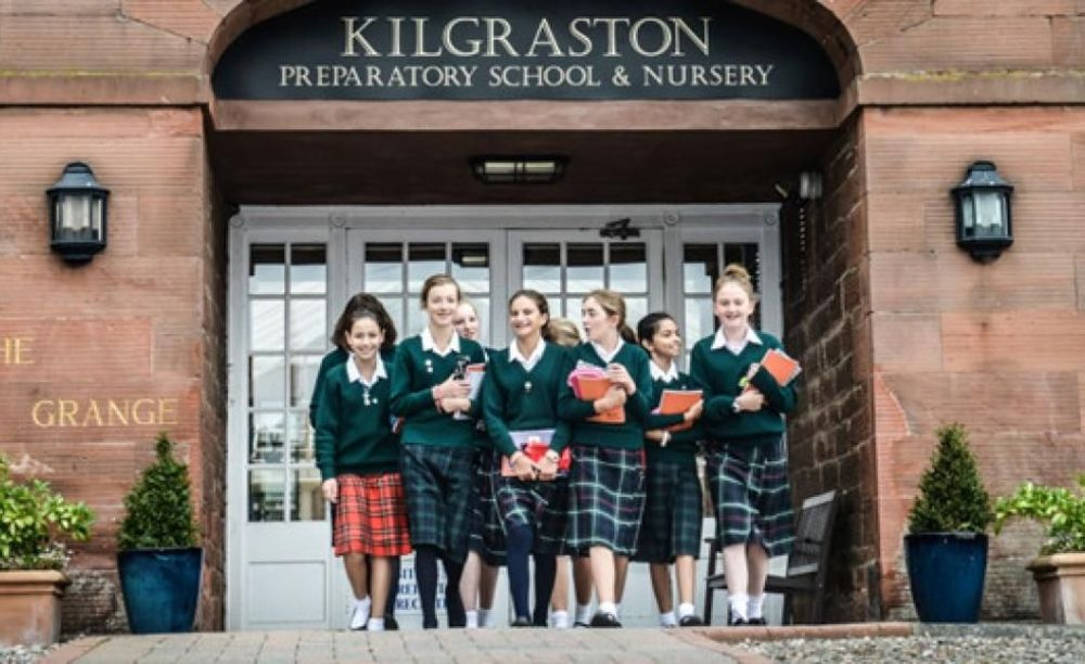 студентки школы Kilgraston School