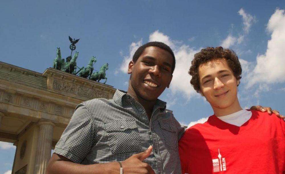 студенты на экскурсии в Берлине GLS Berlin