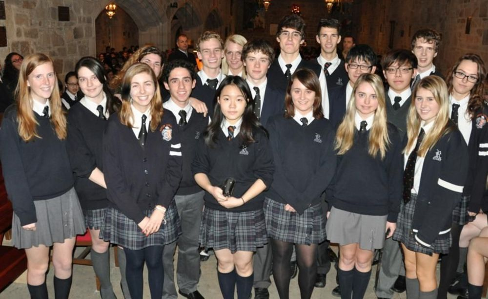 студенты школы Ridley College