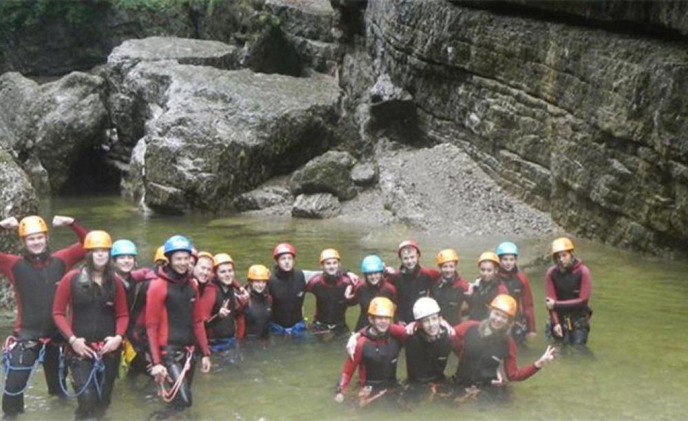 экскурсия участников лагеря American International School Salzburg