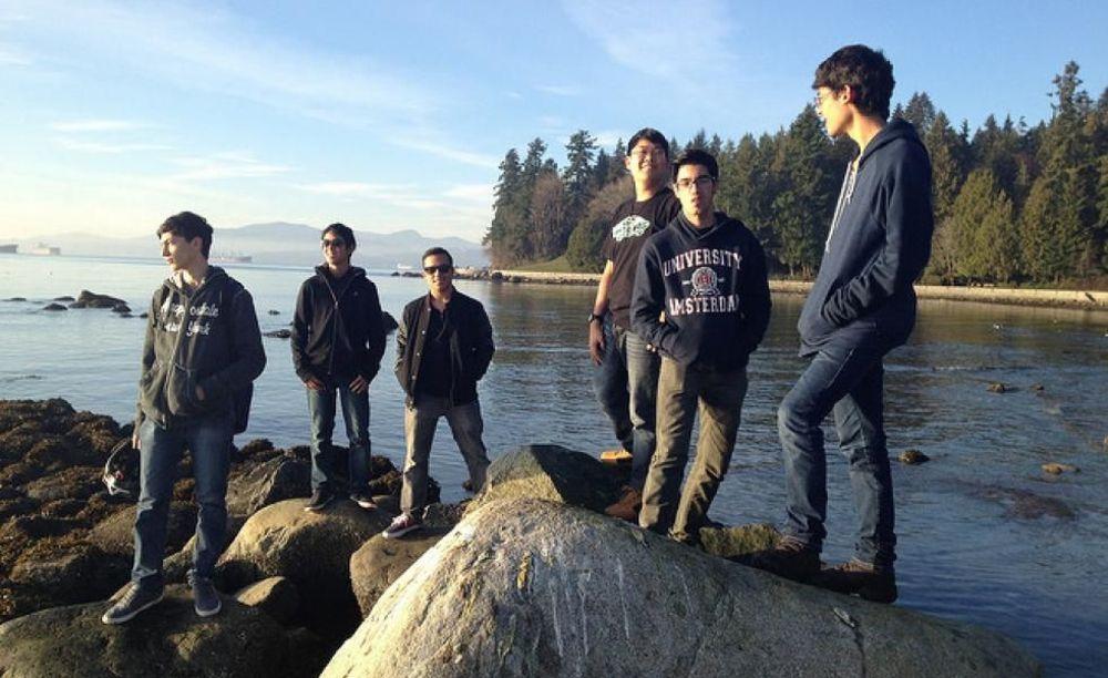 Tamwood Vancouver Camp прогулка в зимнем лагере
