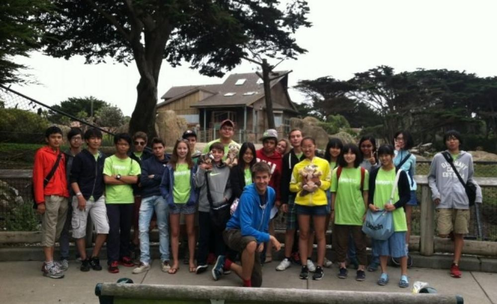 участники лагеря Tamwood в Сан-Франциско