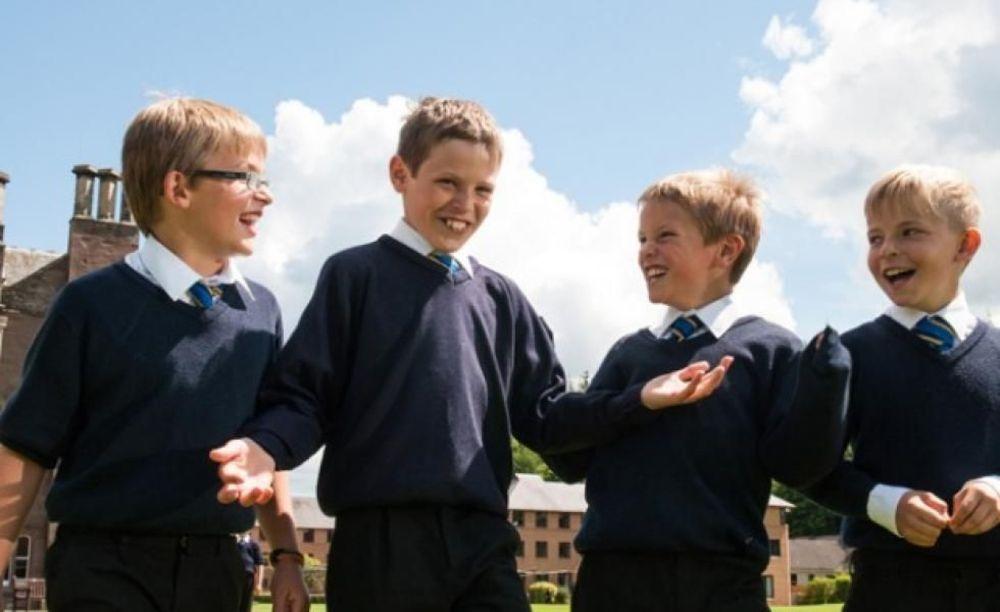 ученики школы Strathallan School