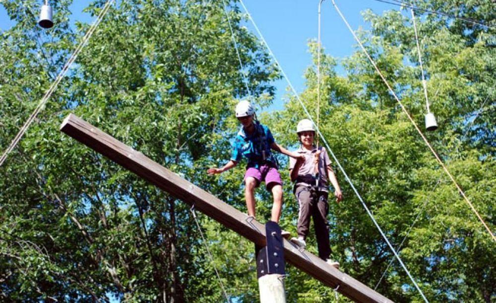 спортивные мероприятия в лагере CISS Lakefield College School