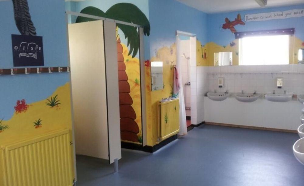 Ванная King's Hall School. Аспект - Образование за рубежом