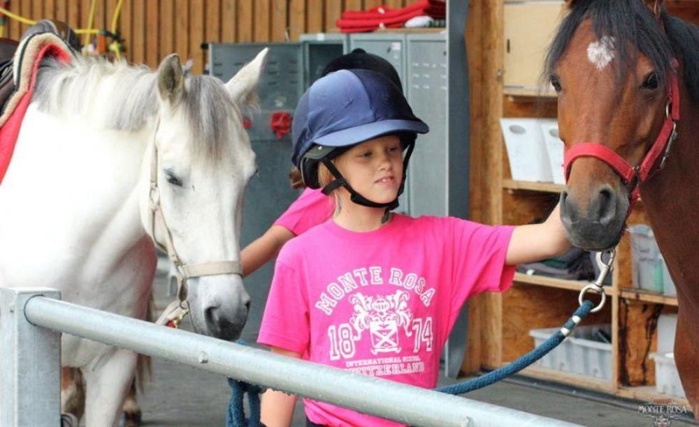 Верховая езда Institut Monte Rosa