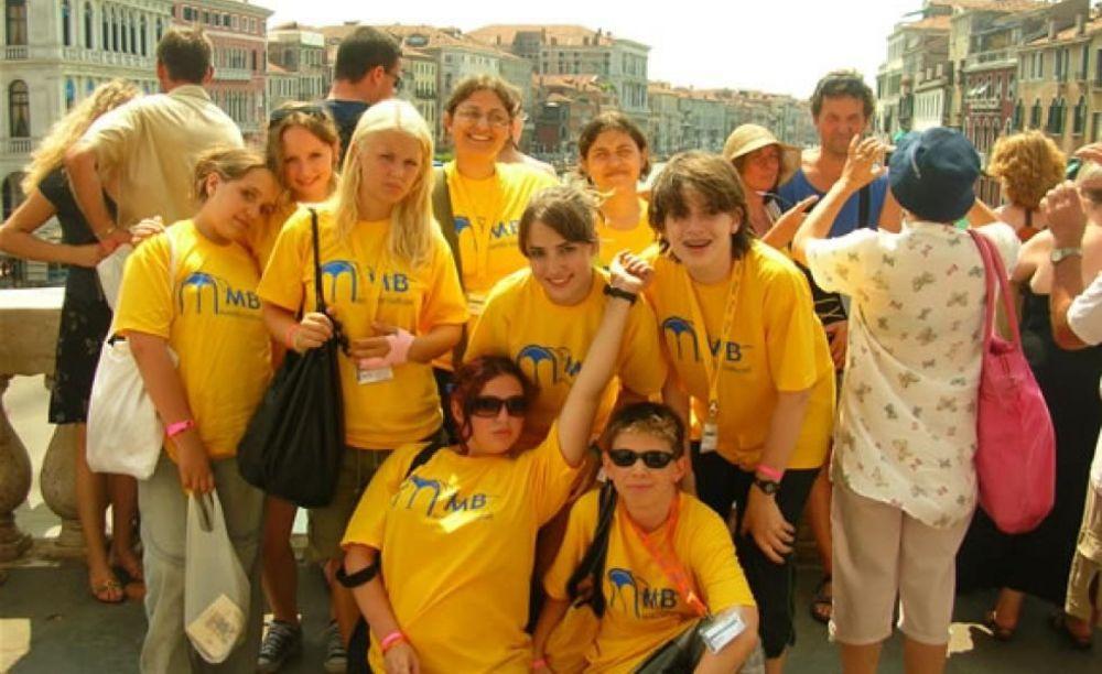"""участники лагеря MB International Summer Camp Lignano - компания """"Аспект"""""""