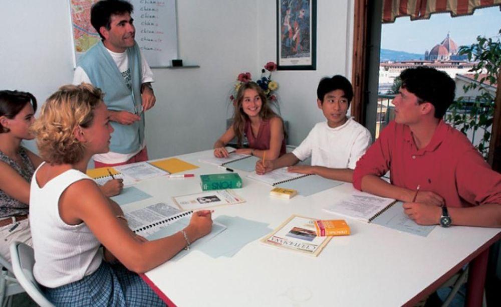 занятия в лагере Sprachcaffe Firenze