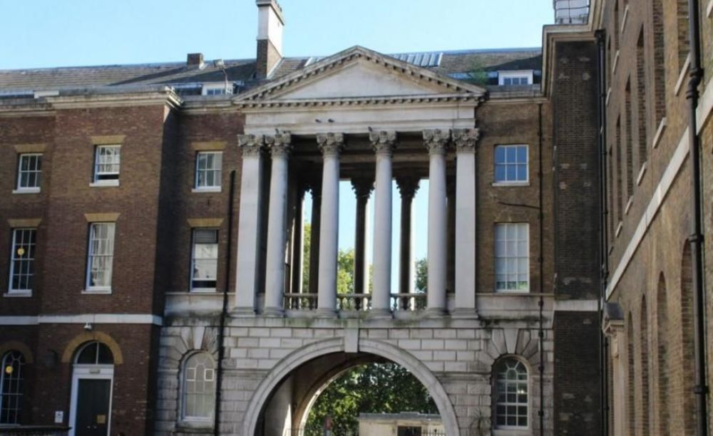 Здание King's College London. Аспект - Образование за рубежом.