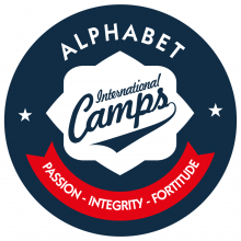 Alphabet International Camps логотип