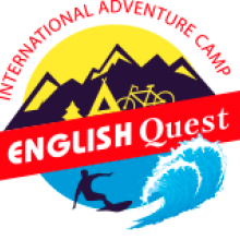 Логотип English Quest Camp