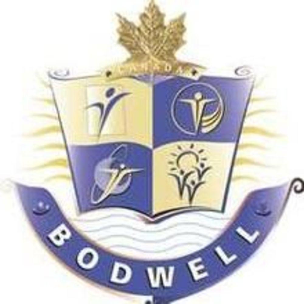 Логотип Bodwell High School, Аспект - обучение за рубежом