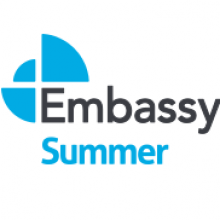 Логотип  Embassy Summer. Аспект - Образование за рубежом.