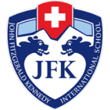 Логотип John F Kennedy School. Аспект - Образование за рубежом.