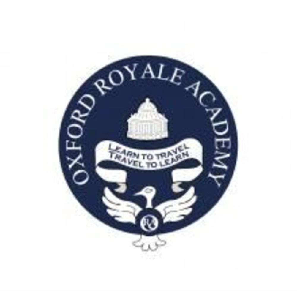 Логотип Oxford Royale Academy. Аспект - Обучение за рубежом.