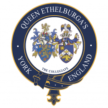 Queen Ethelburga's College логотип
