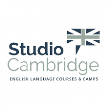 Логотип Studio Cambridge. Аспект - образование за рубежом.