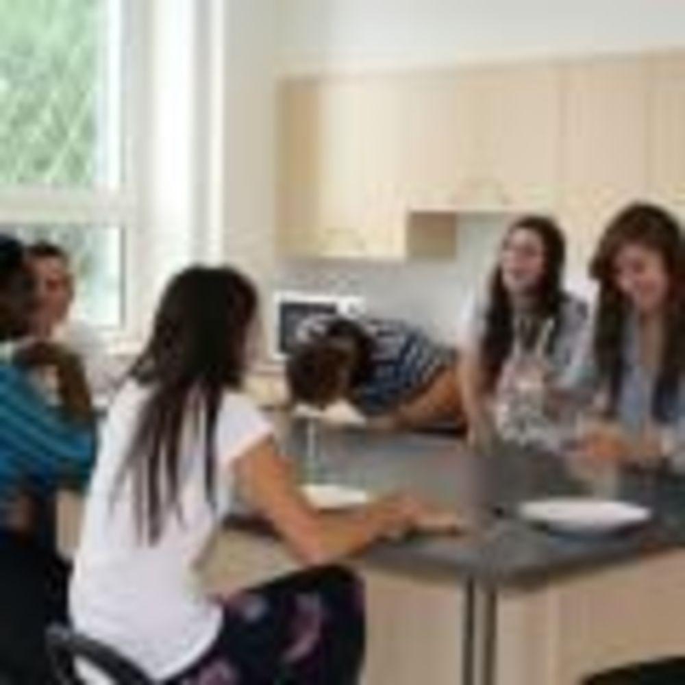 участники лагеря CISS Монреаль в резиденции
