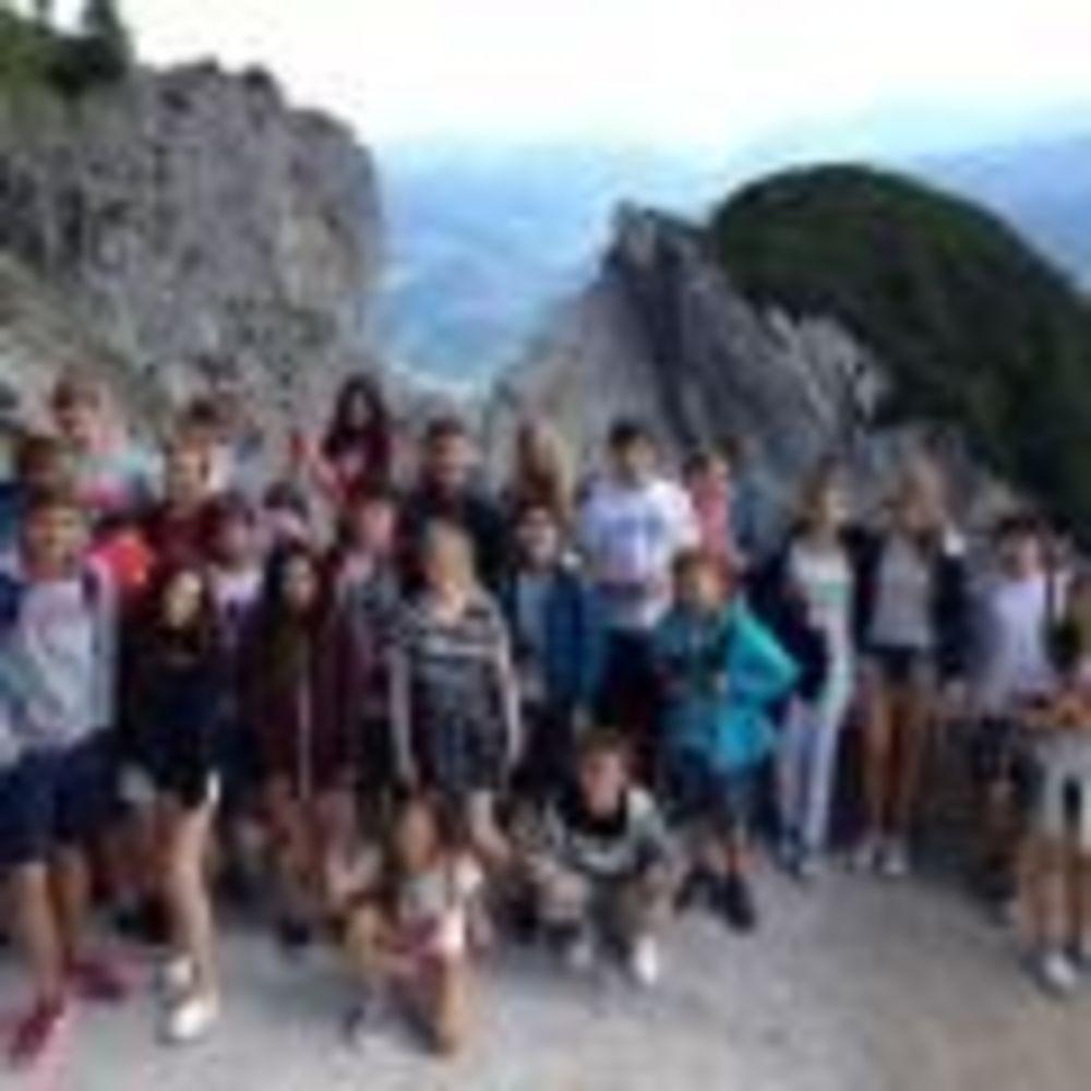 экскурсия для участников лагеря American International School Salzburg