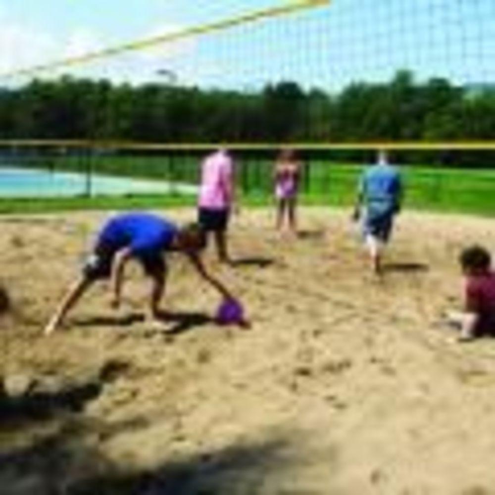 игра в волейбол в лагере Tamwood University of Toronto