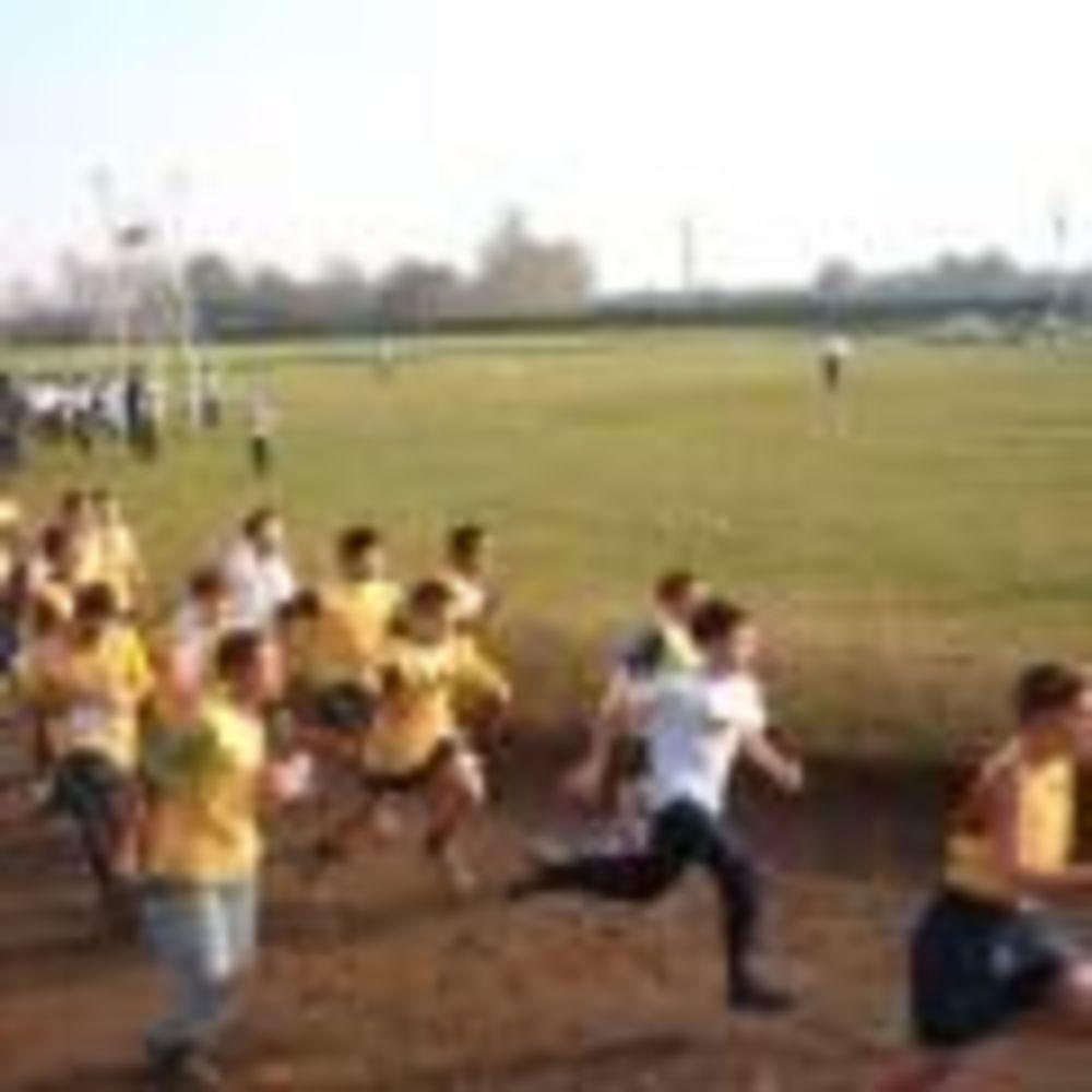 дети на пробажке в школе Ecole Des Roches