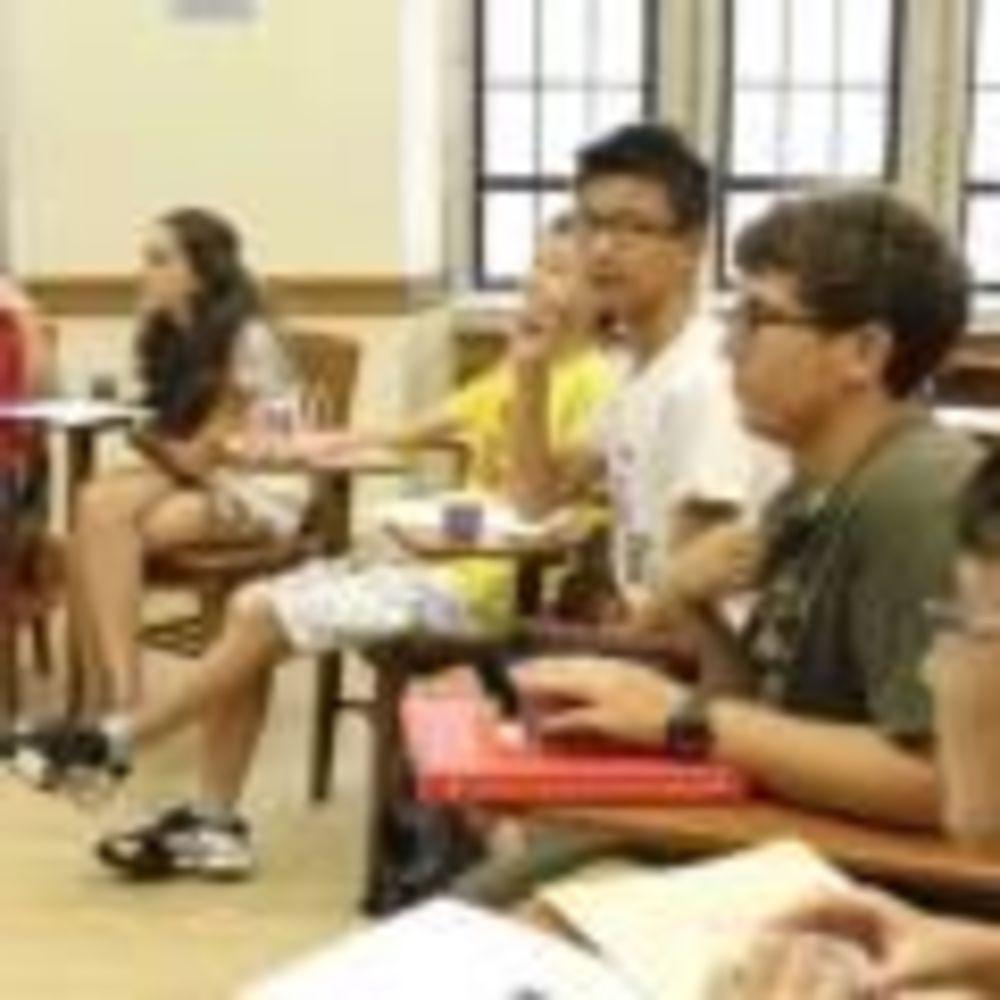 учащиеся лагеря Stafford House на базе Йельского Университета