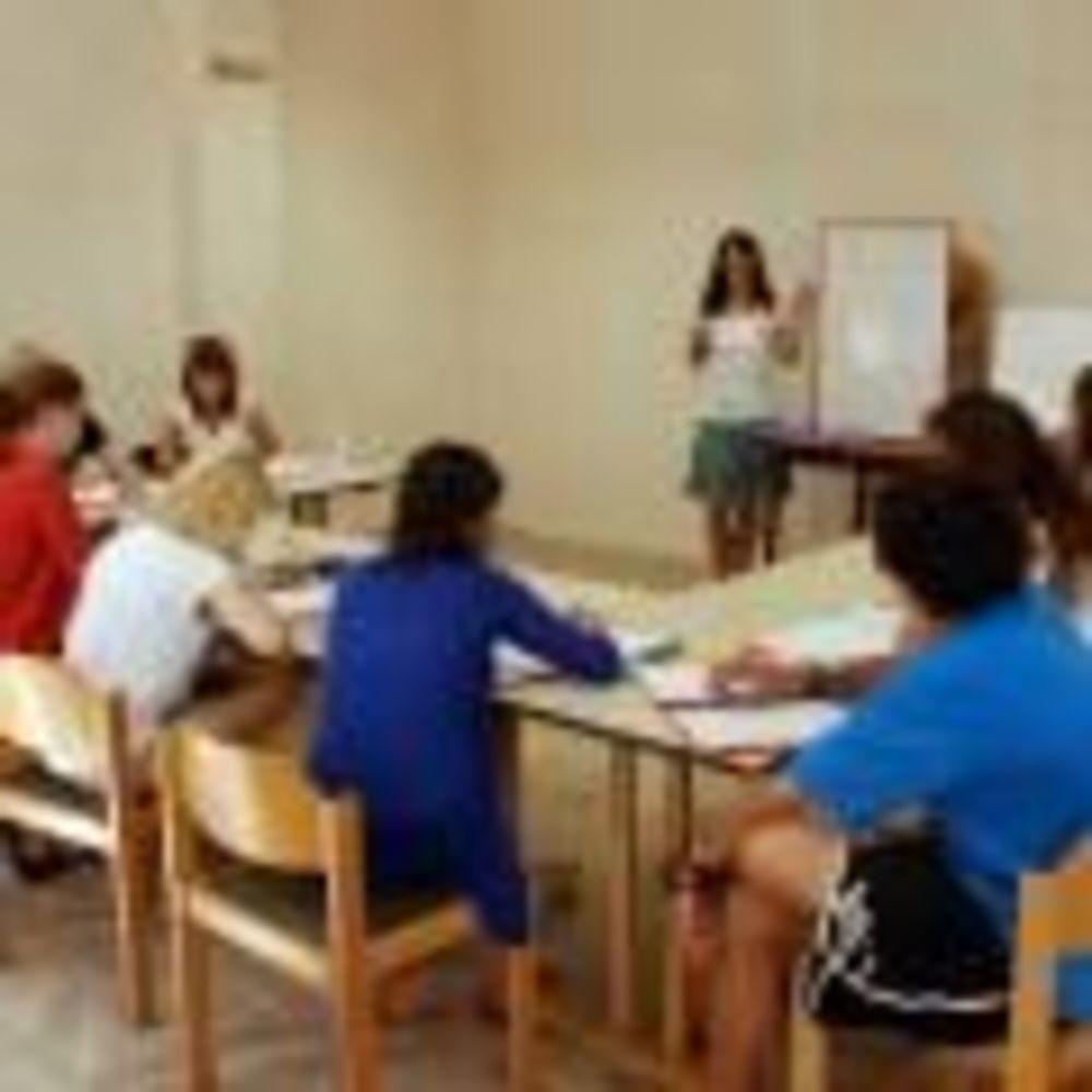 участники лагеря на занятиях Linguaviva Summer Camp, Lignano