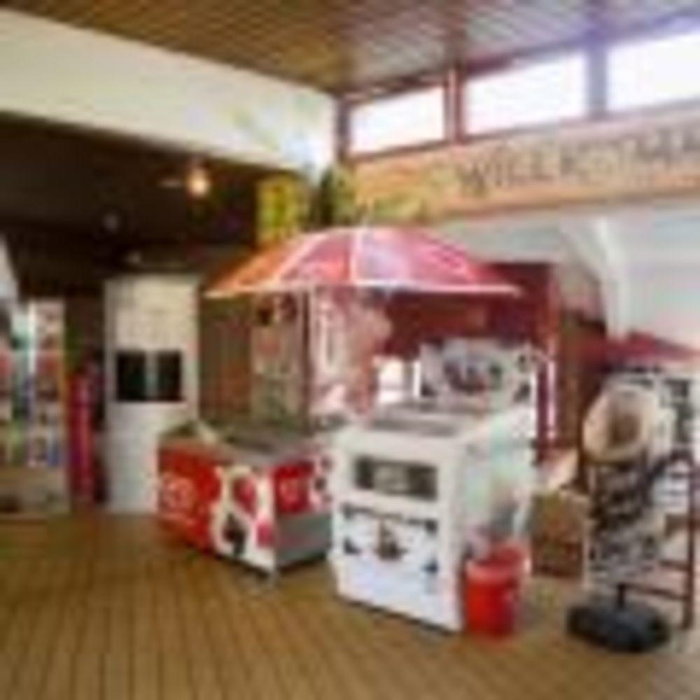 кафетерий в центре Berlin - Wannsee, летний лагерь Alpadia