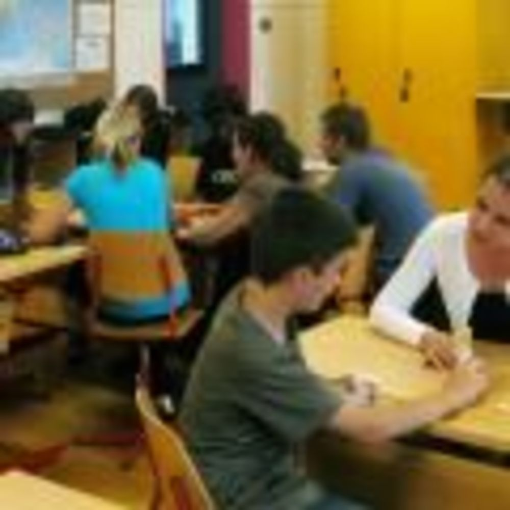 дети на уроках Montreux-Riviera, Alpadia Summer Camps
