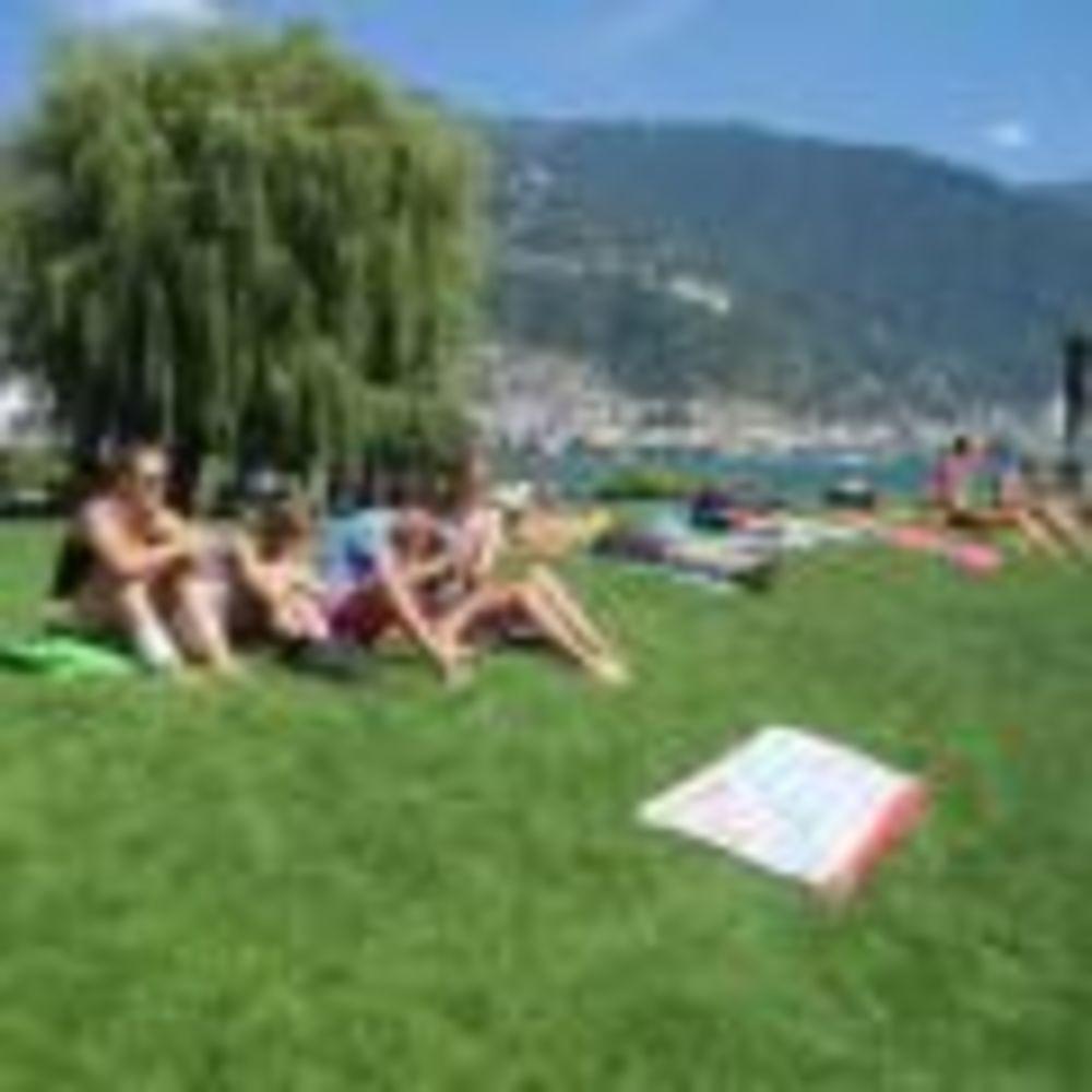 пляж Montreux-Riviera, Alpadia Summer Camps