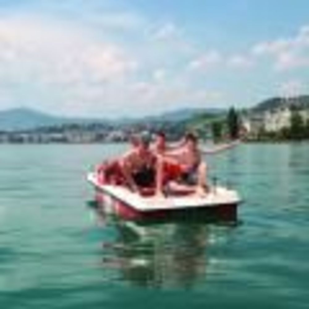 прогулка на лодке Montreux-Riviera, Alpadia Summer Camps