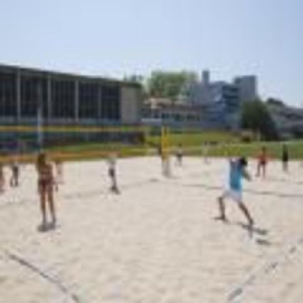 волейбол в лагере Freiburg, Alpadia Summer Camps