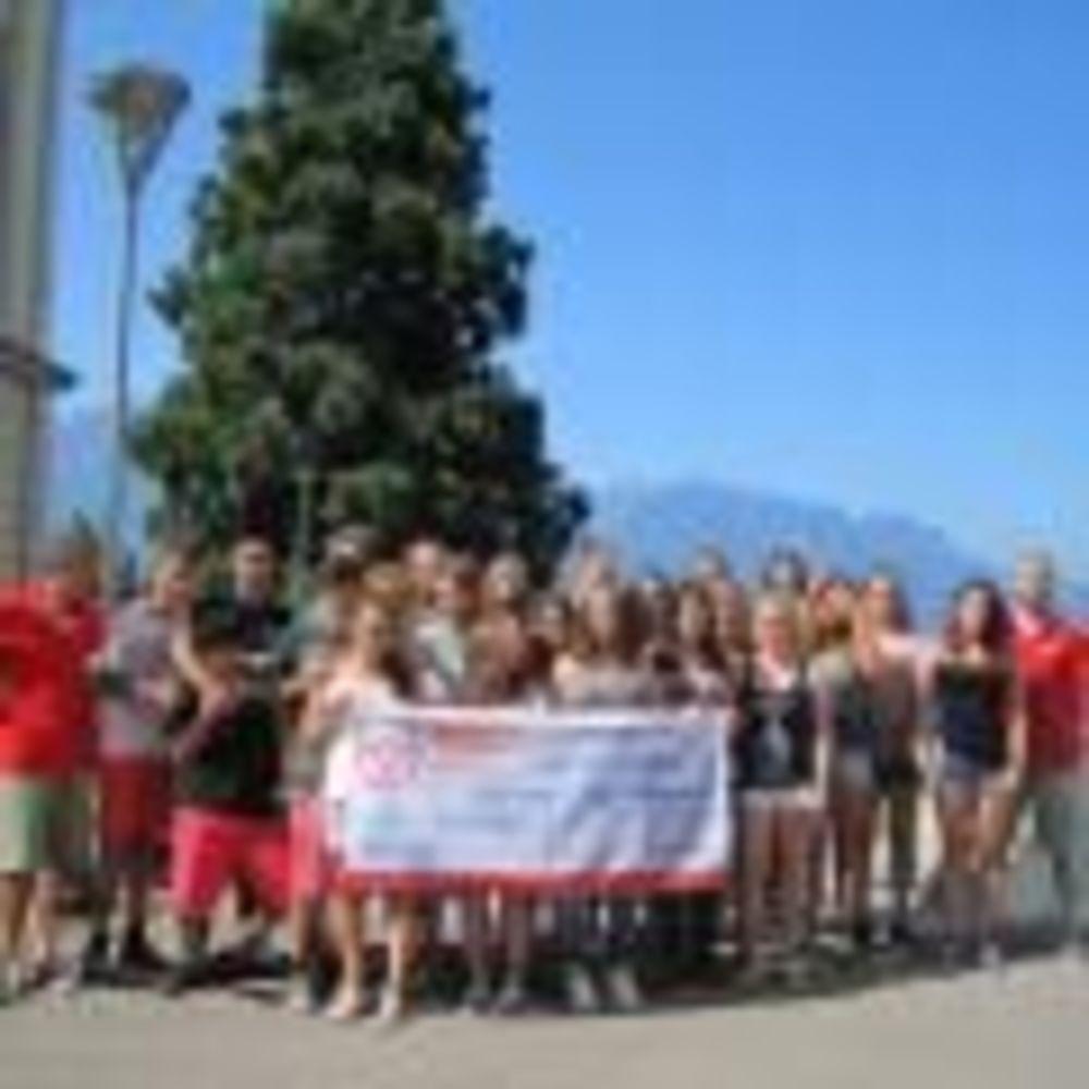 студенты Montreux-Riviera, Alpadia Summer Camps