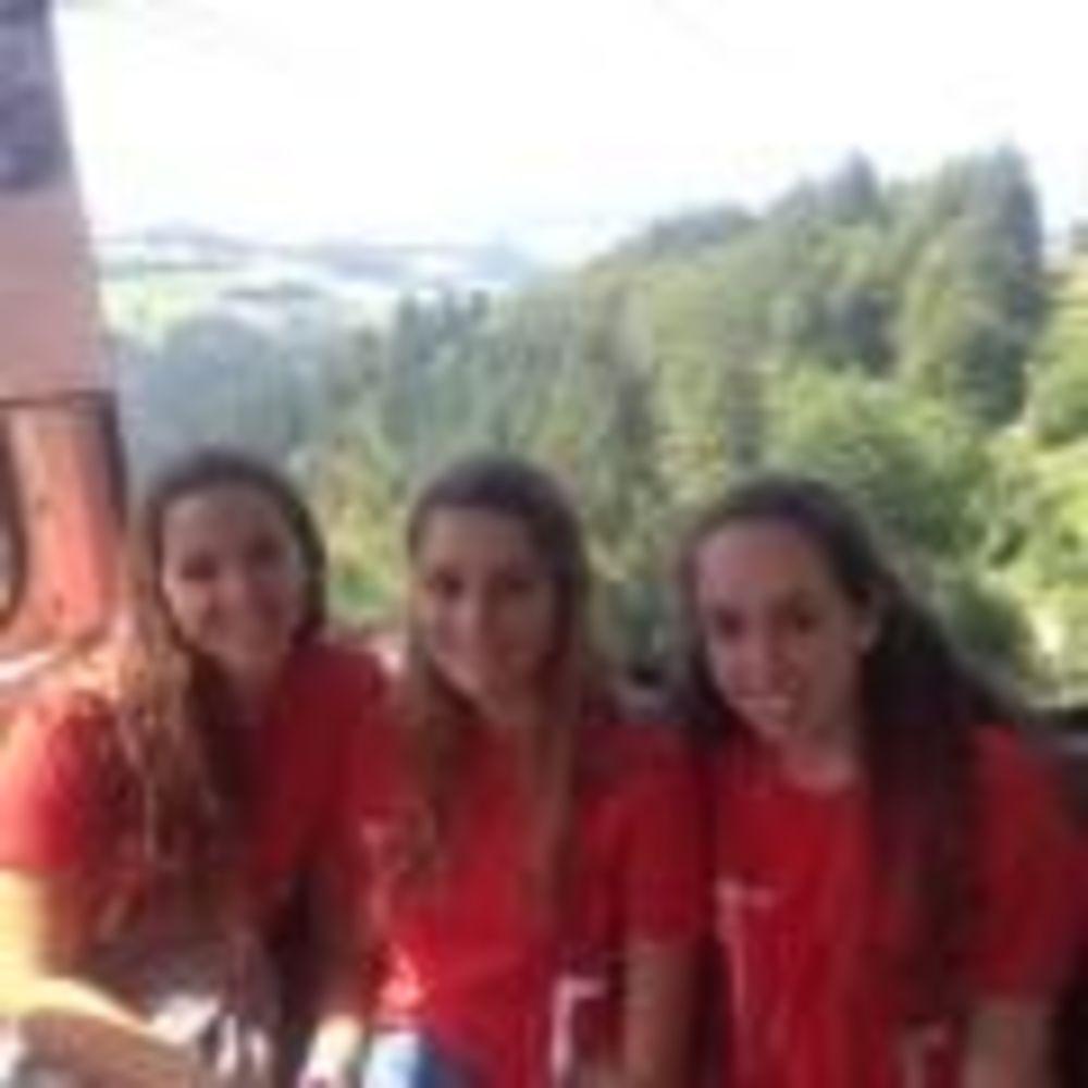 ученицы лагеря Freiburg, Alpadia Summer Camps на экскурсии