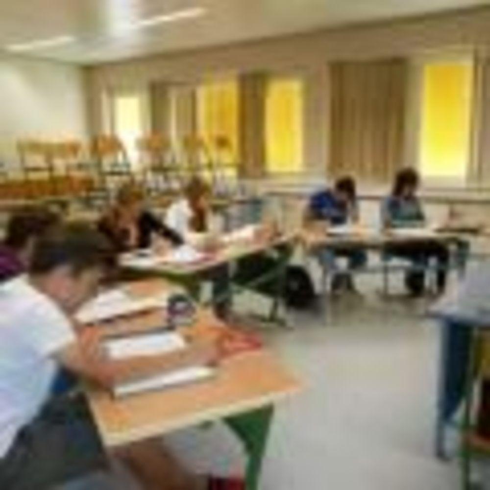 занятия в классе в лагере Humboldt - Institut в Вене