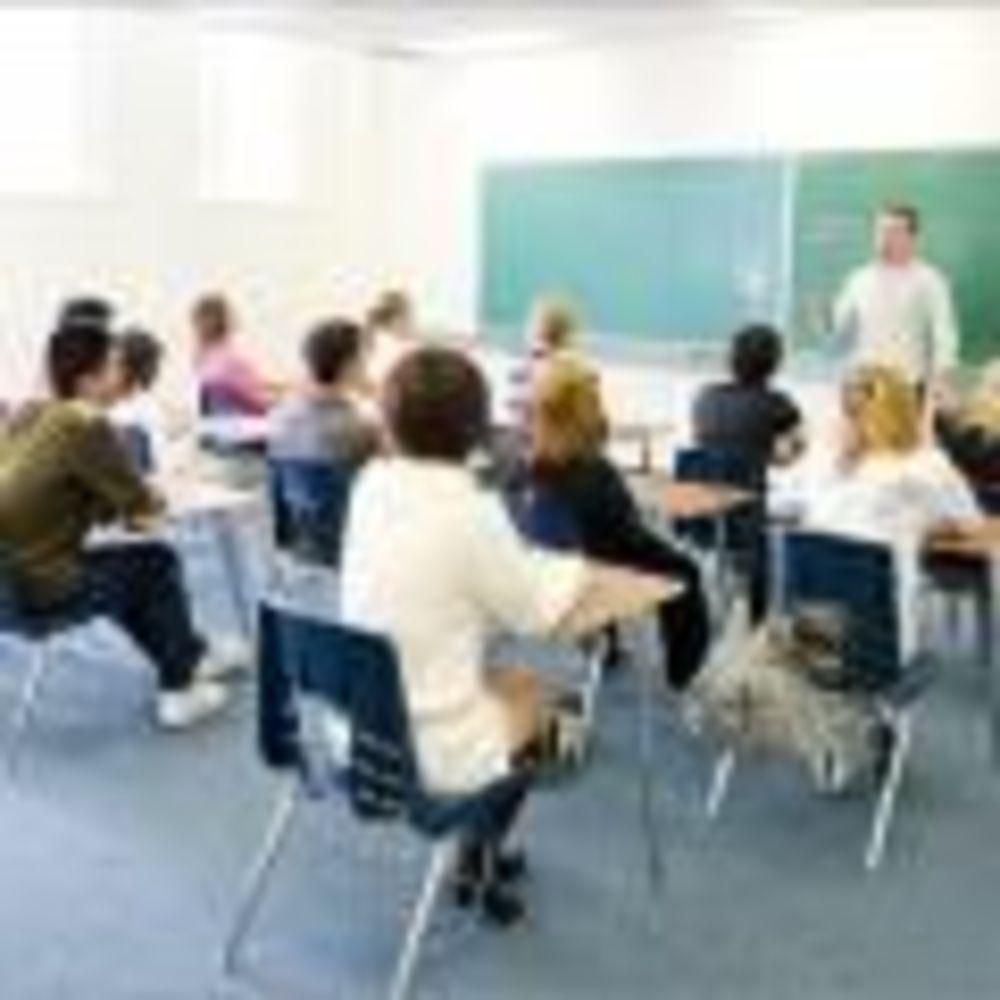 Braemar College студенты в классе